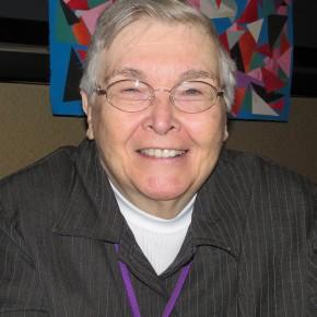 Virginia Ramey Mollenkott - Photo by Anne Eggebroten