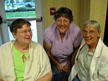 Nancy Hardesty, Barb Crews, Lourene Bender