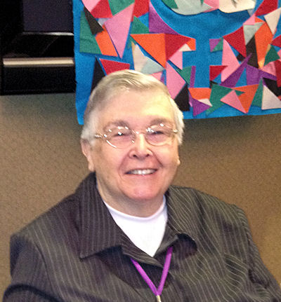 Virginia Ramey Mollenkott at the 2012 EEWC Gathering