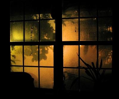Dark Window - Photo by Marg Herder