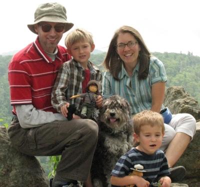 Greta Kreider and family