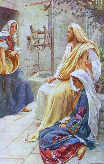 mary and martha examples of discipleship For example, immediately after peter testified of jesus christ's divinity at discipleship 30 liahona the savior teaches mary and martha during his journey to jerusalem, jesus stopped at the home of martha (see luke.