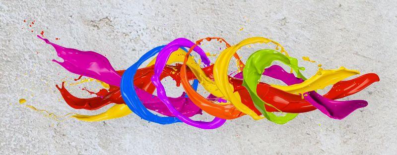 Color Splash Circles by Jag_cz