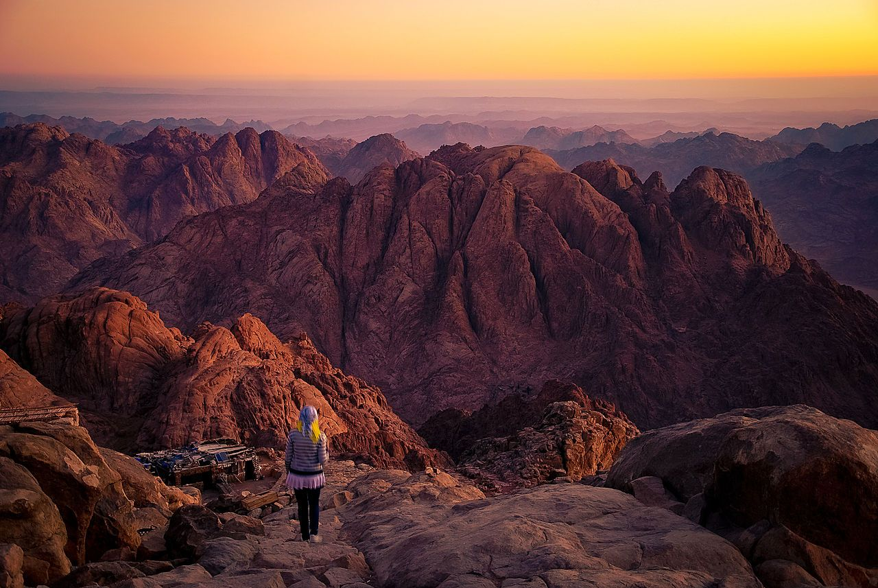"""Mount Sinai"" Photo by Mohammed Moussa"