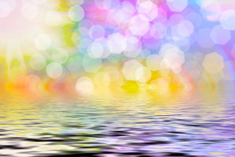 Sunny Abstract Photo